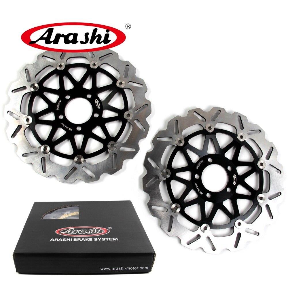 Arashi 2 pcs Pour KAWASAKI ZX9R NINJA 900 1994-1997 CNC De Frein Avant Disque De Frein Rotors 1994 1995 1996 1997 ZZR 1100 ZX12R ZX7R