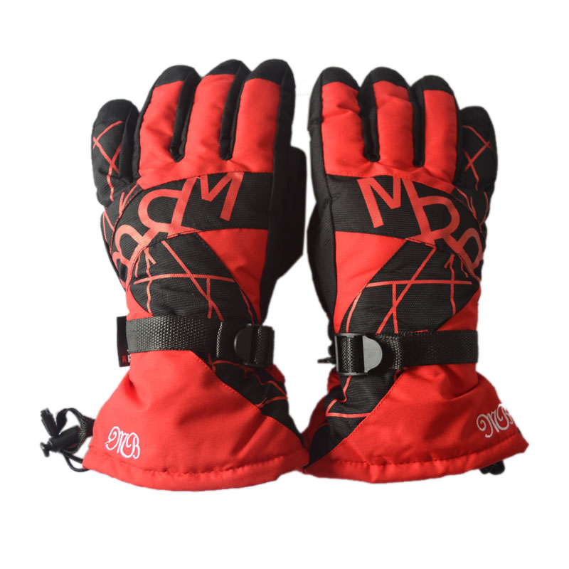 Hot Sale Winter Skiing Gloves Thick Warm Windproof Snow Ski Gloves Snowboard Cycling Motorcycle Anti-Cold Outdoor Sport Gloves