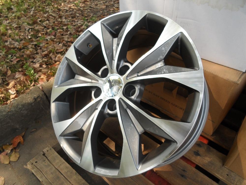 4 New 18 wheels for HONDA CR-V 2007 2008 2009 2010 2011 2012 2013 rims W303 car rear trunk security shield shade cargo cover for nissan qashqai 2008 2009 2010 2011 2012 2013 black beige