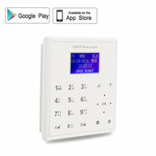 2.4G smart home security wifi gprs wifi gsm alarm system Android/IOS APP remote control voice prompt work with PT wifi camera V8