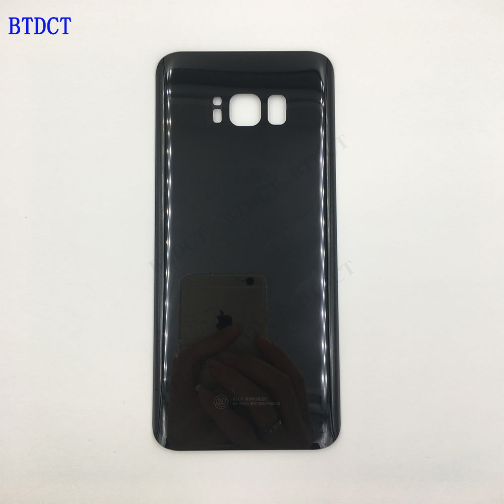 10pcs/lot BTDCT For samsung S8 plus G9550 glass back cover the cell phone battery back cover with Adhesive Sticker10pcs/lot BTDCT For samsung S8 plus G9550 glass back cover the cell phone battery back cover with Adhesive Sticker