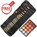 Limited Free Gift ! New Brand Face Lip Makeup Brshes Set Professional Concealer Palette Kits Beauty Essentials Tools Accessories