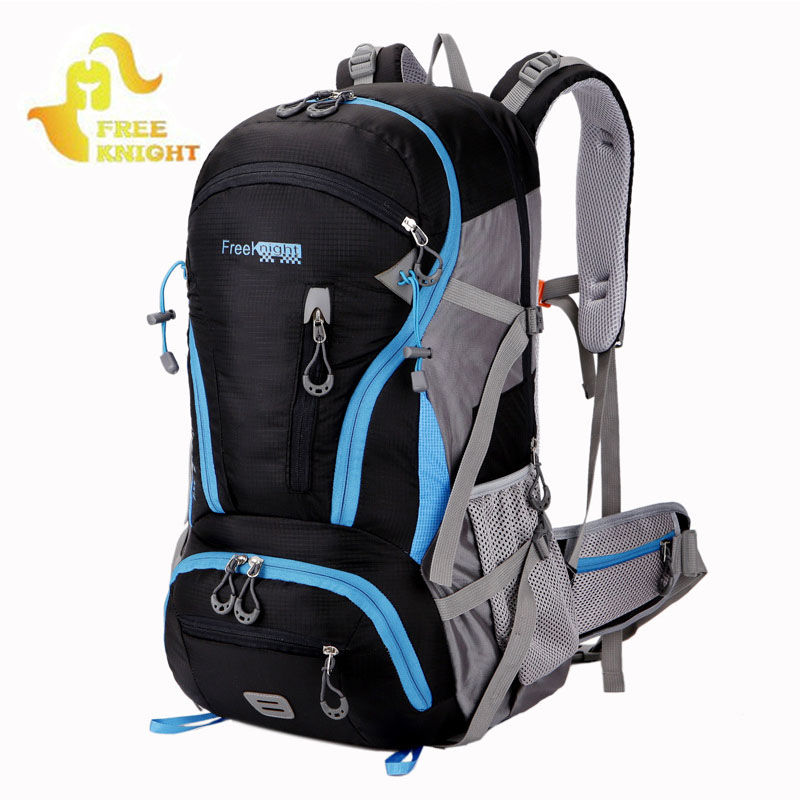 FREE KNIGHT Outdoor Sports Backpack Mountaineering Bag Hiking Mochila De Camping Fishing Backpacks Travel Rucksack Bolsa XA42WA free shipping small outdoor camping tents portable fishing mountaineering heater energy saving gas heating furnace hiking