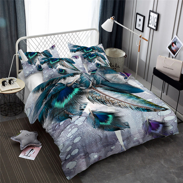 Feathers Duvet Cover Set