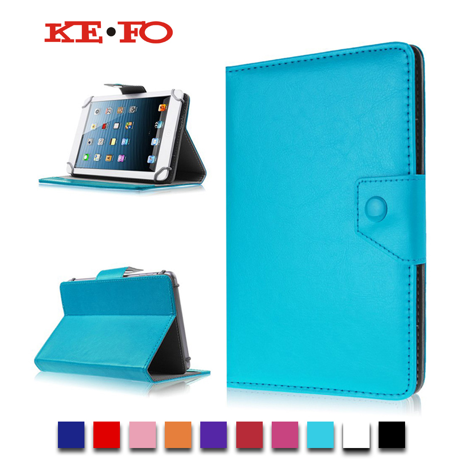 For Lenovo Tab3 7 Essential 710F Universal Tablet Case PU Leather Cover For PocketBook SURFpad 2 U7/SURFpad 4 s cases +Film
