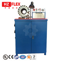 2 inch machine for crimping pipe 380v 3kw 3 ph HZ 50D automatic hydraulic pipe crimping machine