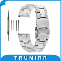 18mm 20mm 22mm Stainless Steel Watch Band For Rolex Watchband Safety Buckle Strap Replacement Wrist Belt