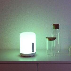 Image 3 - ใหม่รุ่นXiaomi Mijiaโคมไฟข้างเตียง2 Smart Light Touch Controlสวิทช์สมาร์ทAPPสีปรับสำหรับApple Homekit siri