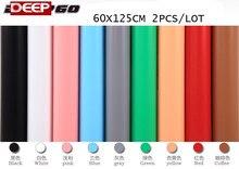 60 см x 125 см Черные, белые, красные розовый синий серый желтый Кофе зеленый ПВХ Фоны фон против морщин Водонепроницаемый Frost