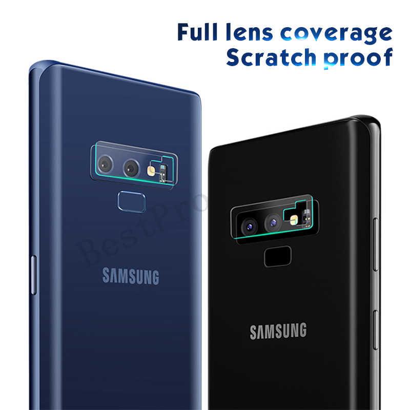 جديد لينة عدسة الزجاج المقسى لسامسونج غالاكسي Note9 8 S8 S9 زائد حامي زجاج الكاميرا لسامسونج غالاكسي A6S A8 زائد 2018