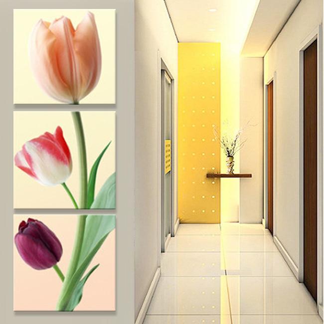 umění Květiny Koridor plátno olejomalba obrazy do obývacího pokoje obrázky na zdi Modulární obrázky Tisk cuadros decoracion (bez rámu)
