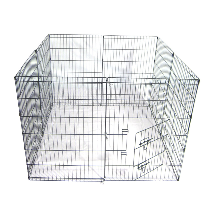 36-Tall-Wire-Fence-Pet-Dog-Cat-Folding-Exercise-Yard-8-Panel-Metal-Play-Pen-Black_11_800x800