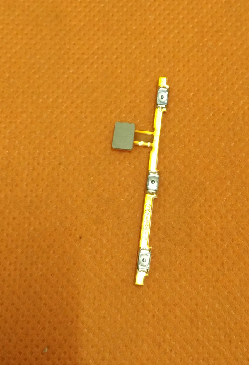 Used Original Power On Off Button Volume Key Flex Cable FPC for Vernee Apollo Lite HelioX20 MTK6797 Deca Core 5.5 FHD 1920x1080