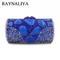 Designer Crystal Day Party Clutches Evening Purses High Quality New Fashion Agate Luxury Handbags Women Bags