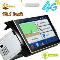 4G Dongle Internet Car Stereo 10.1 pollice Quad-core Tablet Unità Principale per Nissan Android 7.1 Stereo in Dash 2DIN GPS Autoradio Bluet
