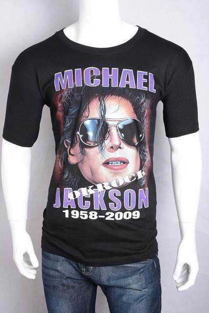 be2acde3 Michael Jackson Shirt Swag Stylish Tie Dye Black Star Shirt Loose Dance Hip-Hop  t-Shirt Xxxl Graphic Tees Michael Jackson Shirt