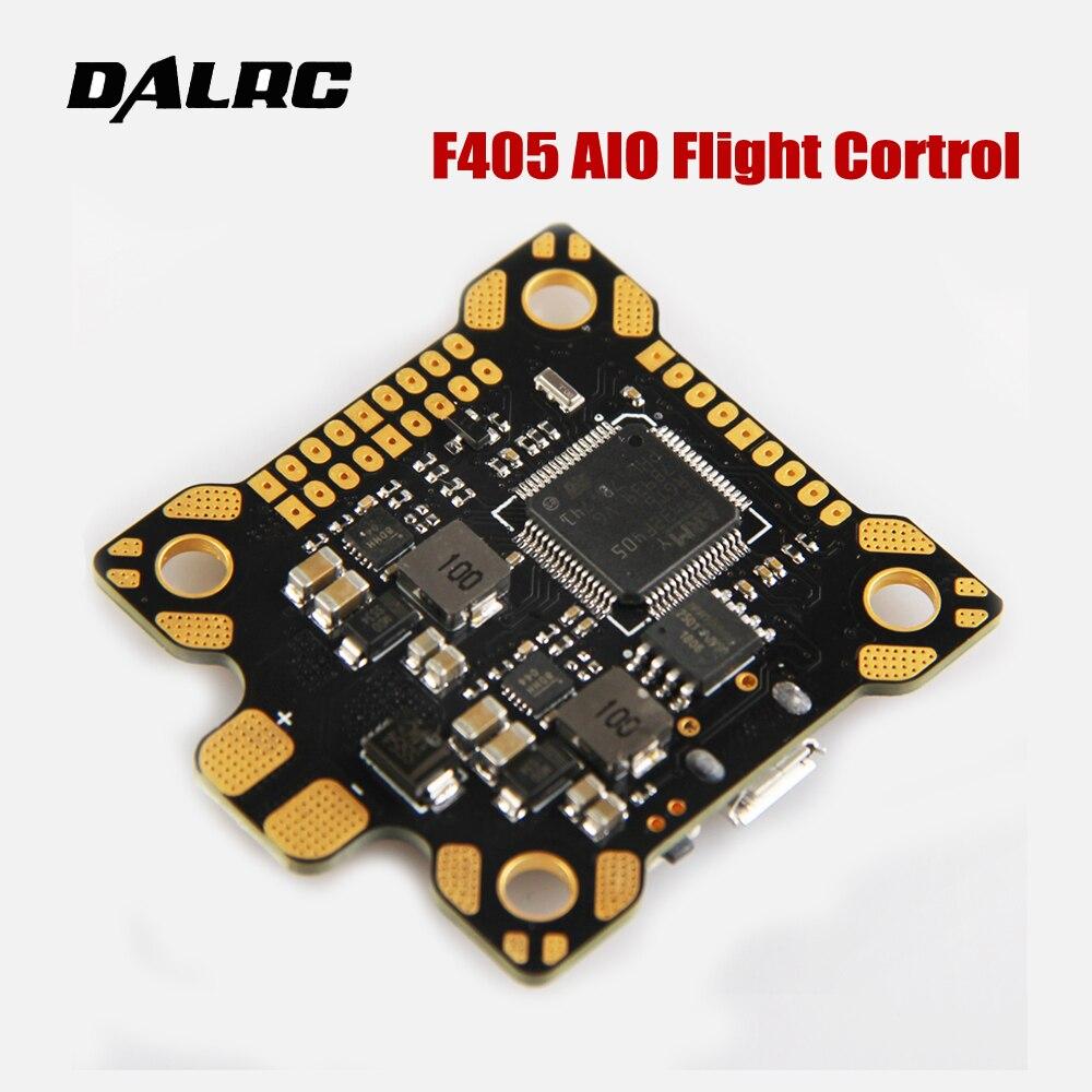 DALRC F405 AIO Controllore di Volo MCU STM32F405RGT6 Costruito in OSD BEC 9 V/3A PDB per il FAI DA TE Da Corsa Drone RC Multicopter