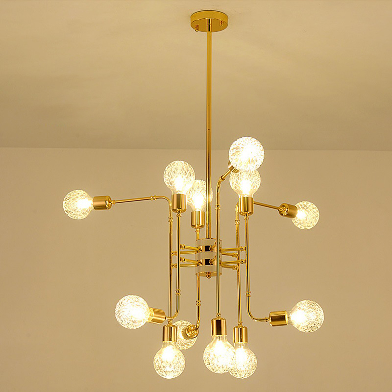Modern LED Chandeliers dining room American style lustre de plafond For Living Room Bed room antlers Decoration
