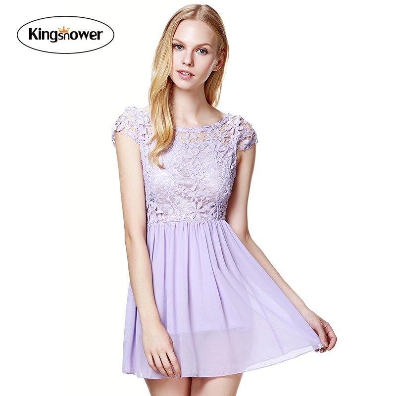 Как сшить кружевное платье без замка