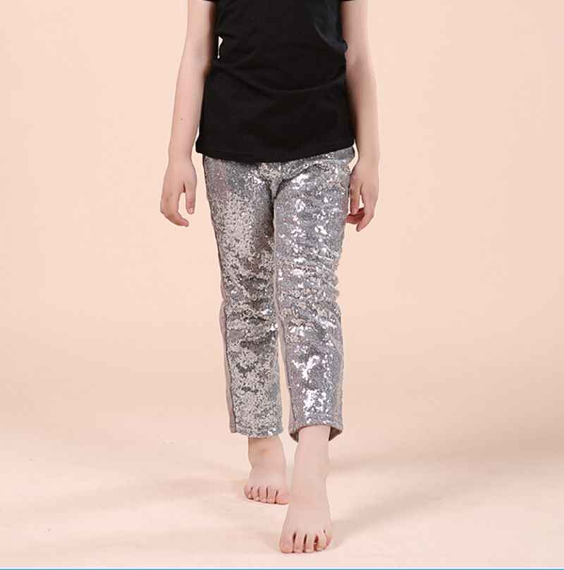 Silver Baby Pants Girl Silver Leggings Baby Girl Pants Silver Leggings Sparkle Pants Silver Sequin Pants Girl Clothes Birthday Pants NB-6T