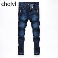 2016 Beswlz New Arrival Men Jeans Pants Casual Fashion Classical Denim Jeans Men Slim Male Jeans  CHOLYL CHOLYL
