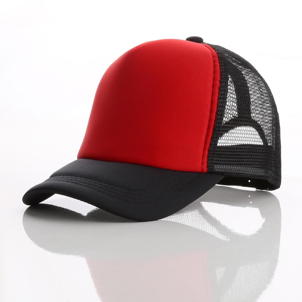 LJ104 di Estate Degli Uomini Delle Donne di Sun Visiera del Berretto Da Baseball Del Cappello di Colore Solido di Modo Protezioni Registrabili - 4