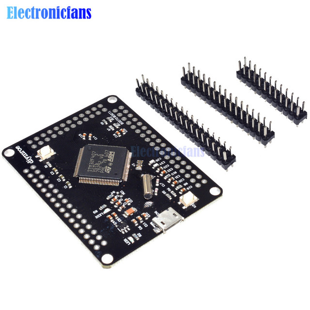 STM32F4discovery STM32F407VGT6 ARM Cortex-M4 32bit MCU Core Development Board SPI I2C IIC UART ISC SDIO Interface Module