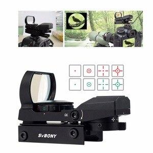 Image 2 - Svbony mira telescópica de rifle, escopo ótico holográfico de ponto vermelho para caça, acessórios táticos f9128