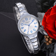 Lvpai Women Bracelet  Watch Luxury Stainless Steel Quartz WristWatch Watches for Party Gifts