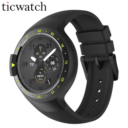 Original Ticwatch S Caballero reloj inteligente Wear Android 2,0 Bluetooth 4,1 WIFI de IP67 impermeable incorporada GPS reloj deportivo