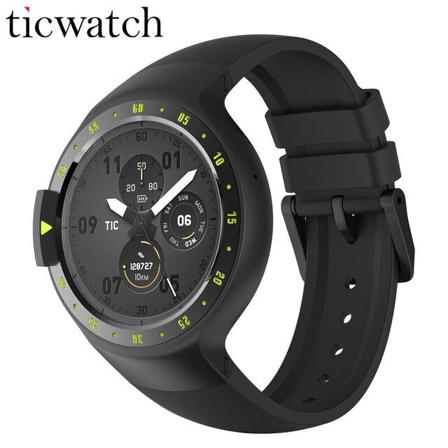 Original Ticwatch S Knight Smart Watch Android Wear 2.0 Bluetooth 4.1 WIFI Heart Rate IP67 Waterproof Built-in GPS Sport Watch