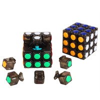 Magic Cubes Spinner Hand Fidget Cube Speed Stress Reliever Puzzle Professional Puzzle Magico Cubo Toys For