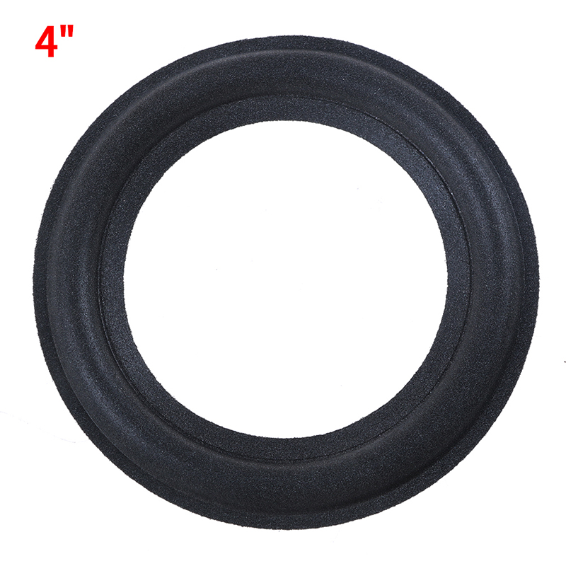 1pcs Audio Active Speakers 4 Inch Speaker Foam Surround Foam Edge Sponge Speaker Repair Parts Accessories