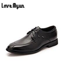 2017 marque nouvelle robe de mode mens chaussures hommes lacent casual Appartements bout Pointu de mariage chaussures hommes en cuir souple chaussures WA-19