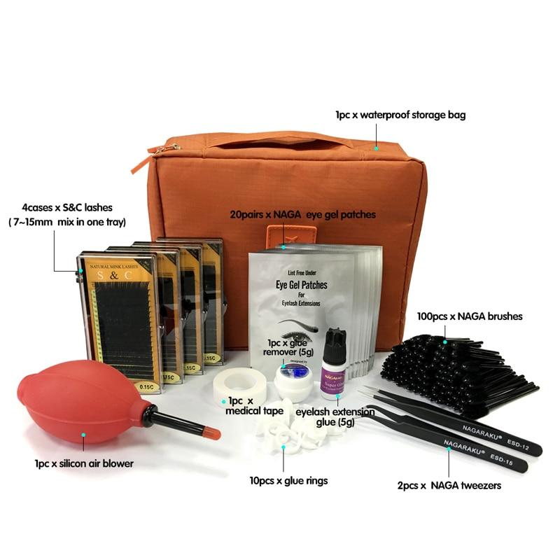 ФОТО NEW eyelashes extension kit