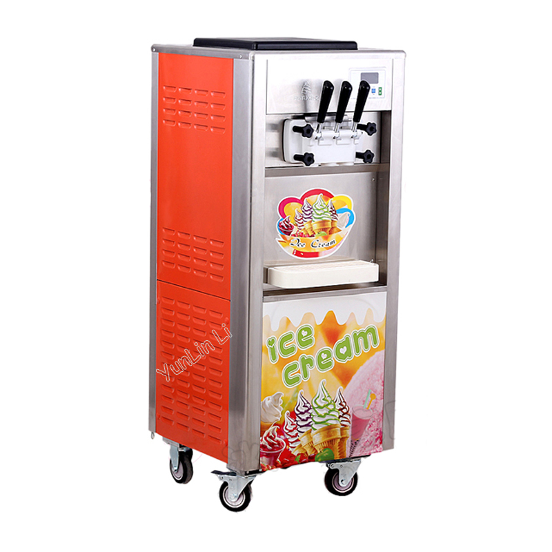 Commercial ice cream machine rainbow jam ice cream machine Ice cream cone machine sundae