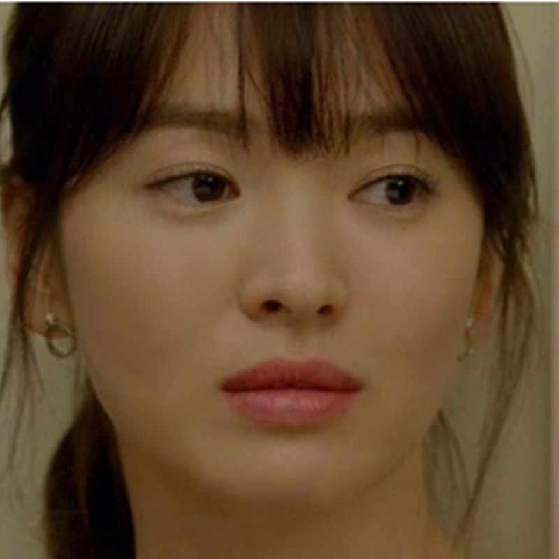 ES036 الأزياء كوريا سحر البسيطة حلقة أقراط اللؤلؤ الأذن خواتم الزفاف حزب السيدات مجوهرات
