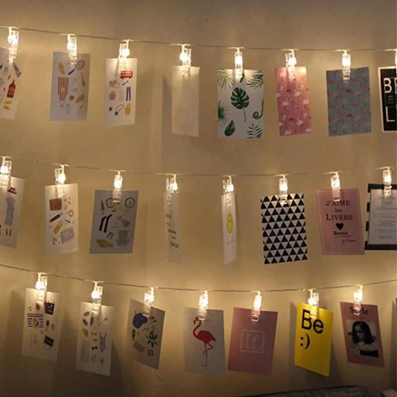 Светодиодный держатель для фотографий с изображением карты, яркие колышки для свадебной вечеринки, украшения на День святого Валентина