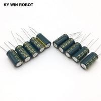 aluminum electrolytic capacitor 16V 2200UF 10*20 high frequency low impedance aluminum electrolytic capacitor 2200uf 16v (4)