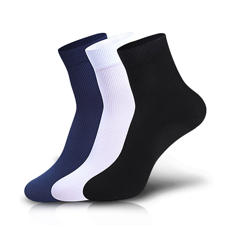 2Pairs Mens Bamboo Fiber Socks Ultra-Thin Male Breathable Socks Black Cotton Hot DropShip Wholesale 2018 Crew Men Dress Socks