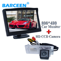 Available from stock car rear reversing camera with car screen monitor rainproof for Renault Fluence for renault megane