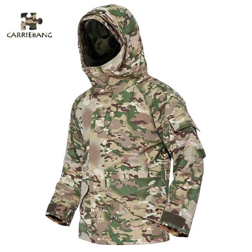 Tactical Airsofts Wehrmacht Cs Go Clothes Camouflage Suit Men Winter Thermal Military Hooded 2 In 1 Waterproof Military Uniform