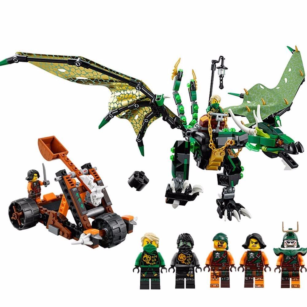 LEGO Ninjago No Minifigures//box Catapult from 70593 The Green NRG Dragon