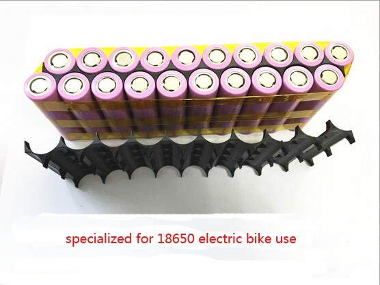 1pcs/lot 10s2p 18650 battery pack fixture/holder specialized for 18650 electric bike use|Battery Accessories| |  - title=