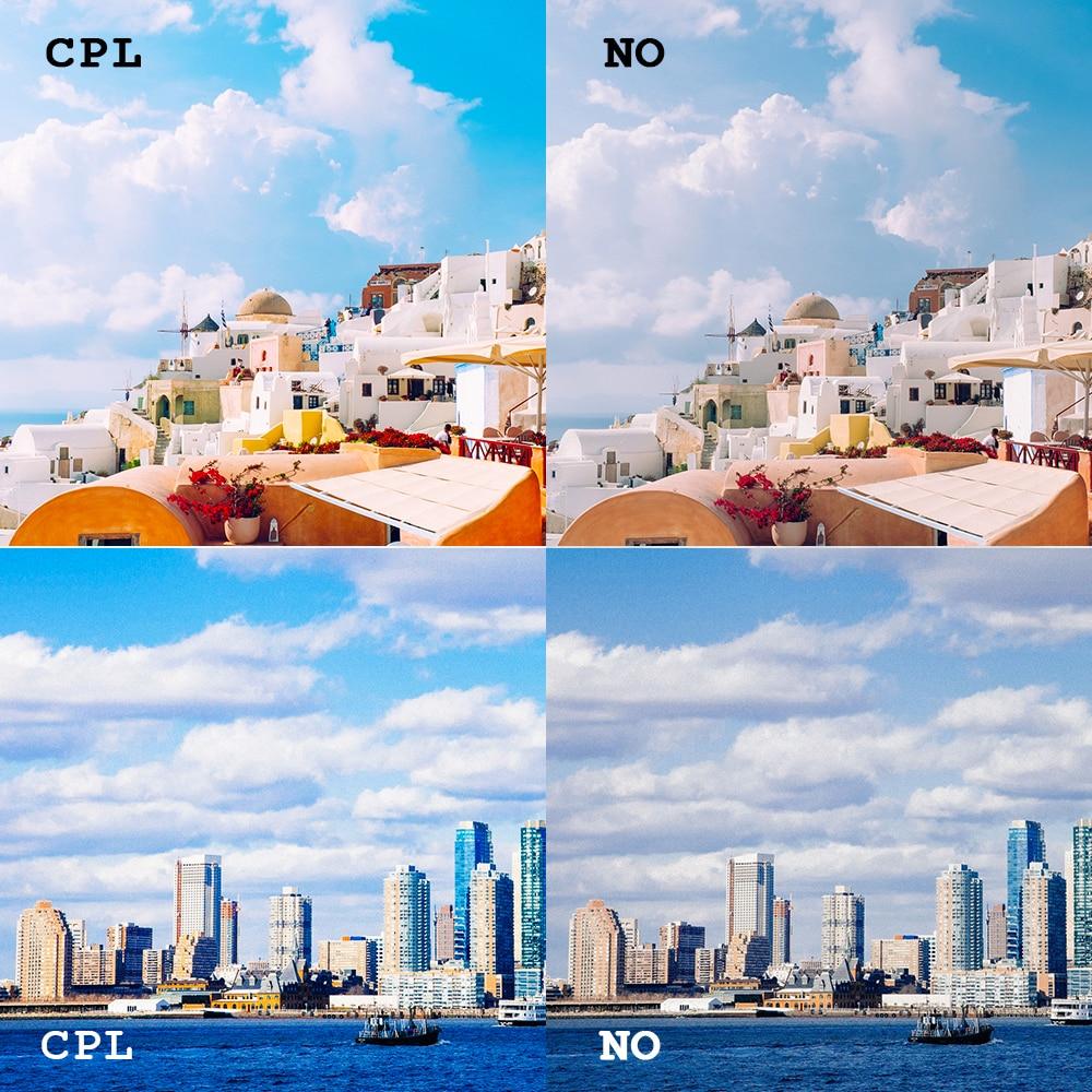 SHOOT 58mm Filtro UV para GoPro Hero 6 5 7 Negro Cubierta de la lente - Cámara y foto - foto 6