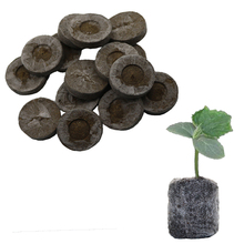 8pcs Nursery Soil Block Garden Flowers Planting The Soil Block Plant Seedlings Peat Cultivate Block Seed Migration Tools