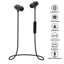 Bluetooth Sports Headphones, Wireless HD Clear Stereo In-Ear Earbuds Earphones with MIC for Iphone XS Max Samsung Huawei Xiaomi
