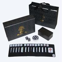 114pcs Plastic Mahjong Playing Cards Paper Mahjong Plastic PVC Waterproof Playing Cards Mini Mah Jong