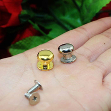 Silver Gold Super mini 10*10mm Nail Head Monk Pacifier Pull handles Jewelry box knobs Wooden box pull