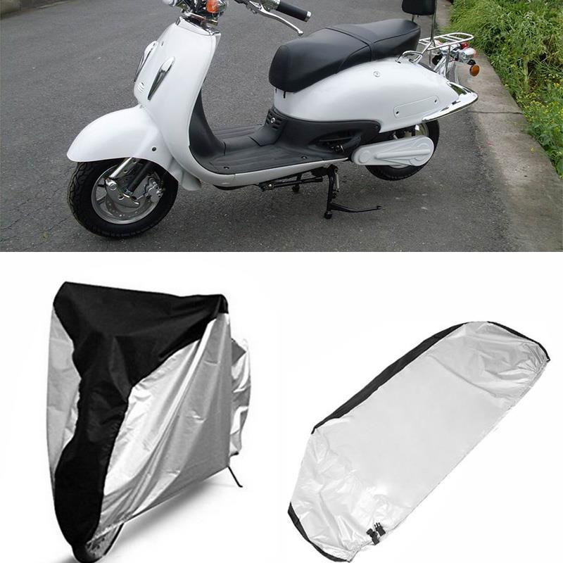 все цены на Vehemo Waterproof Motorcycle Cover S M L XL Motorbike Scooter Outdoor Rain Dust Protective Cover Case Universal онлайн
